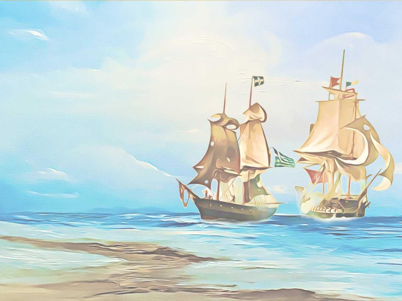 9) Επανάσταση στη θάλασσα